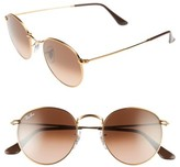 Ray-Ban Women's Icons 50Mm Retro Sunglasses - Pink/ Brown