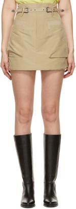 ANDERSSON BELL Khaki Mika Miniskirt