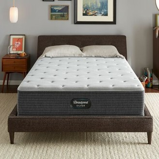 "Simmons Silver 12"" Medium Innerspring Mattress and Box Spring Mattress Size: Full, Box Spring Height: Standard Profile (9"")"