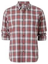 Jeanswest Christopher Long Sleeve Check Shirt-Oxide Red Multi-S