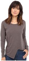LnA Uneven Marrow Long Sleeve Women's Long Sleeve Pullover