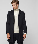 Reiss Gable Wool-Blend Overcoat