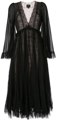 Giambattista Valli flared silk dress