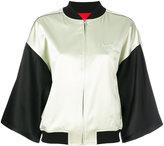 Opening Ceremony multi bomber jacket - women - Silk/Polyester/Spandex/Elastane - S