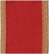 """Caspari Raw Silk Wired Ribbon - Red - 1.5"""" x 10 yd"""