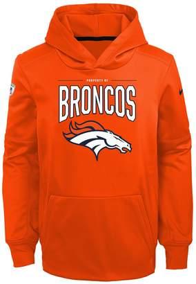 Nfl Boys 8-20 NFL Denver Broncos Therma Hoodie Pullover