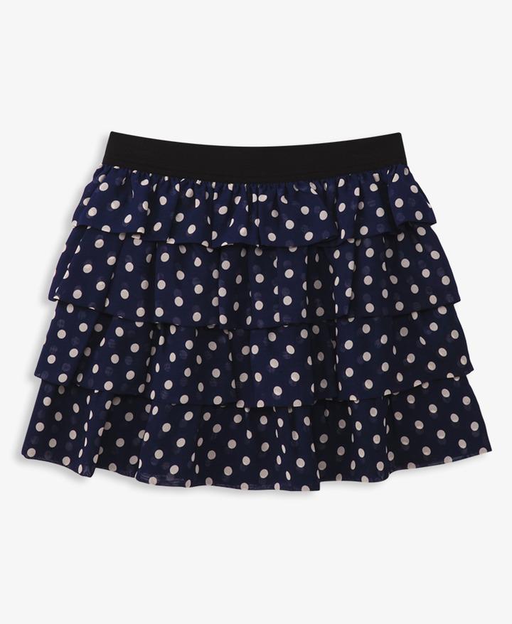 Forever 21 girls Ruffled Polka Dot Skirt