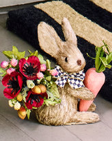 Mackenzie Childs MacKenzie-Childs Small Hare with Faux Flowers