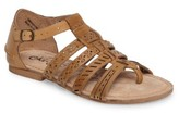 Naughty Monkey Women's True Grit Perforated Sandal