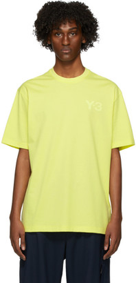 Y-3 Yellow Logo T-Shirt
