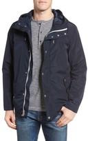 Cole Haan Men's Packable Hooded Rain Jacket