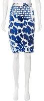 Just Cavalli Leopard Print Pencil Skirt