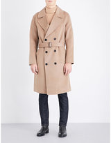 Sandro Romance Wool And Cashmere-blend Coat
