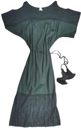 Hermes Green Viscose Dresses