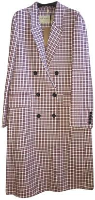 Burberry Purple Cotton Coat for Women