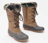 Khombu Tall Lace-Up Waterproof Boots - Colyn