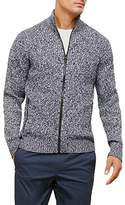 Kenneth Cole New York Men's Engineered Full Zip
