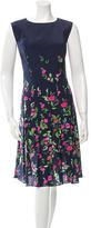 Oscar de la Renta Spring 2015 Silk Dress