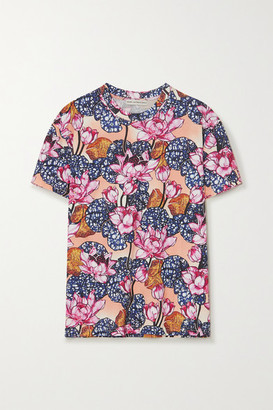 Mary Katrantzou Tierny Floral-print Cotton-jersey T-shirt - Pink