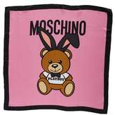 Moschino Playboy Bear Silk Scarf