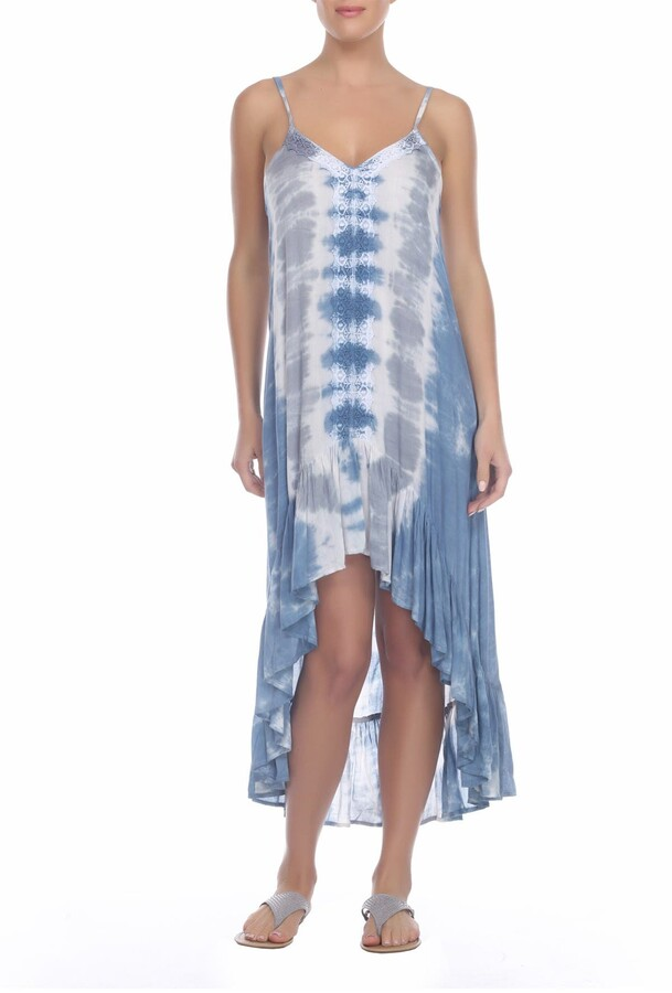 BOHO ME High/Low Tie Dye Dress