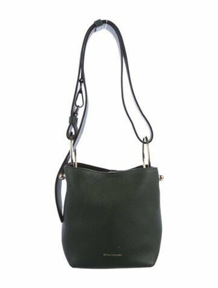 Strathberry Nano Lana Bucket Bag w/ Pouch green