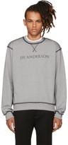 J.W.Anderson Grey Logo Sweatshirt