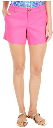 Lilly Pulitzer Callahan Stretch Shorts (Raz Berry) Women's Shorts
