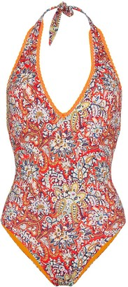 Etro Gelsomino paisley pattern swimsuit