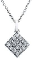 Nordstrom Bony Levy Diamond Dome Pendant Necklace Exclusive)