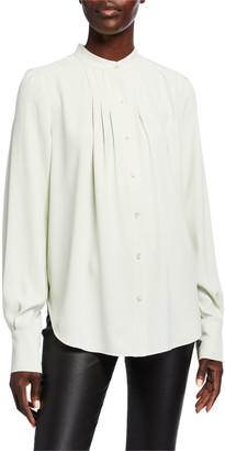 Equipment Perce Button-Down Silk Shirt