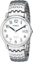 Timex Men's T2P294 Easy Reader Dress Stainless Steel Expansion Band Watch