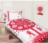 Bees Knees Pink Quilt Cover Set