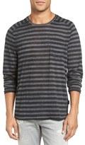 John Varvatos Stripe Long Sleeve T-Shirt