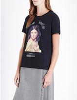 Undercover Instacalm-print cotton-jersey t-shirt