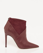 Le Château Italian-Made Leather & Suede Ankle Boot