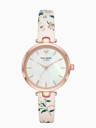 Kate Spade Holland Floral Leather Watch
