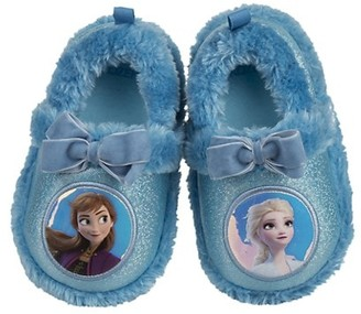 Josmo Girl's Disney Frozen 2 Faux Shearling-Trim Sandals
