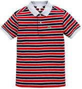 Lacoste Boys Classic Short Sleeve Stripe Polo