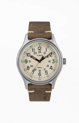 Timex MK1 Steel Leather Strap Watch
