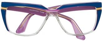 LANVIN Pre-Owned Square Frame Glasses