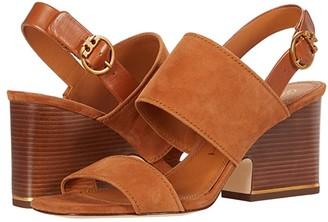 Tory Burch Selby 75 mm Block Heel Sandal (Perfect Black/Perfect Black) Women's Shoes