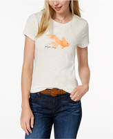Maison Jules Crew-Neck Fish-Graphic T-Shirt, Created for Macy's