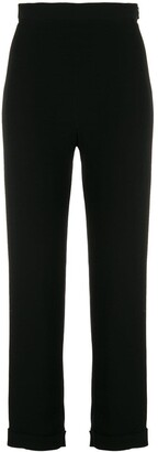 Balmain Side Zipped Trousers