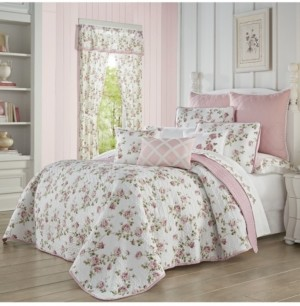 Royal Court Rosemary Rose Twin 2pc. Quilt Set Bedding