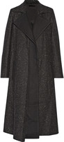 Wes Gordon Flecked wool coat