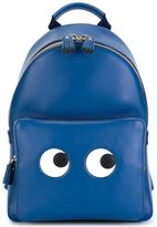 Anya Hindmarch 'Eyes' backpack - women - Calf Leather/Polyester - One Size