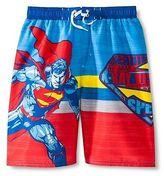 Batman Boys' Superman Swim Trunk