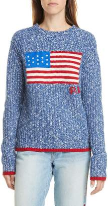 Polo Ralph Lauren Flag Wool & Cashmere Sweater