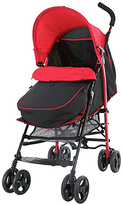 Fisher-Price Black and Red Pushchair with Footmuff